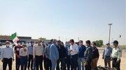 حضور معاون توسعه روستایی کشور در بخش شبانکاره دشتستان