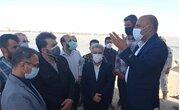 بازدید معاون توسعه روستایی از پروژه ها و ظرفیت های روستایی استان بوشهر